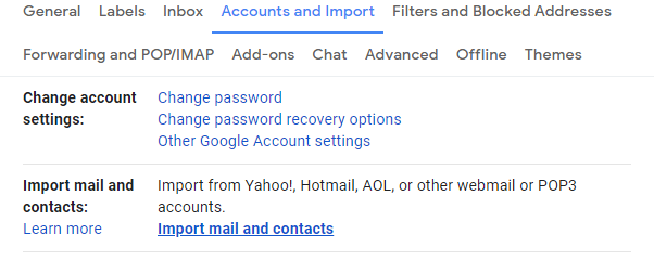 Cómo reenviar el correo de AOL a Gmail 4