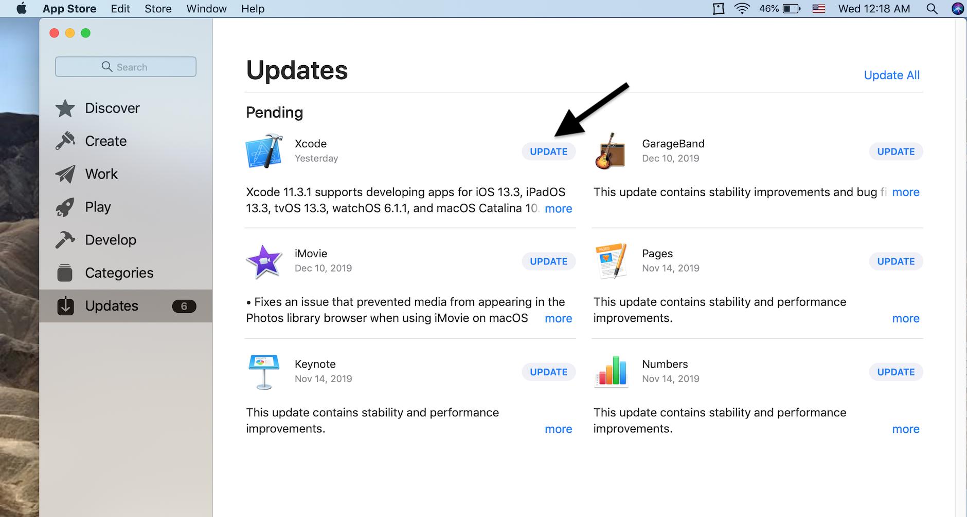 Cómo actualizar Xcode en Mac 1