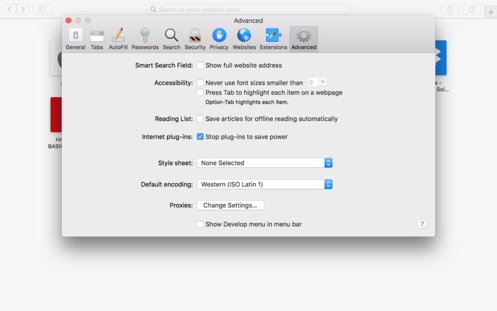 Arreglar que Safari no cargue imágenes en el Mac 2