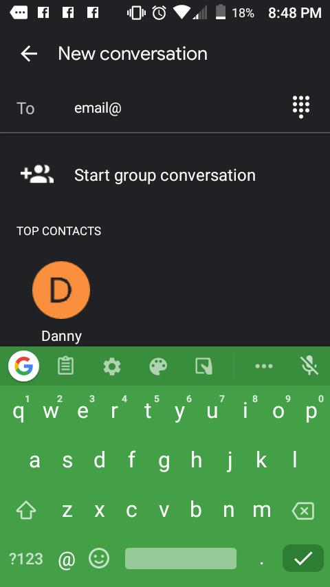 Cómo reenviar un mensaje de texto a un correo electrónico 4