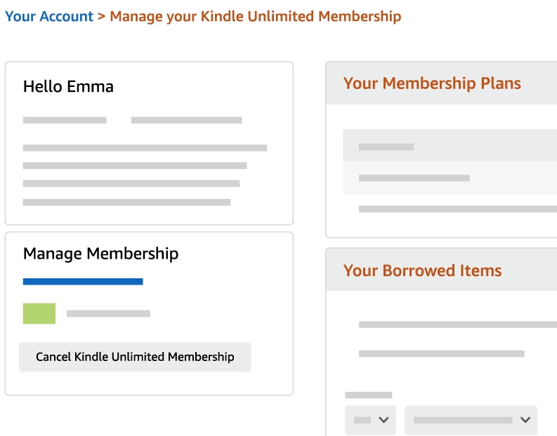 Cómo cancelar el Kindle Unlimited de Amazon 4