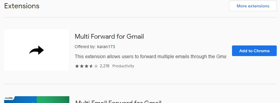 Cómo reenviar varios mensajes a la vez en Gmail 2