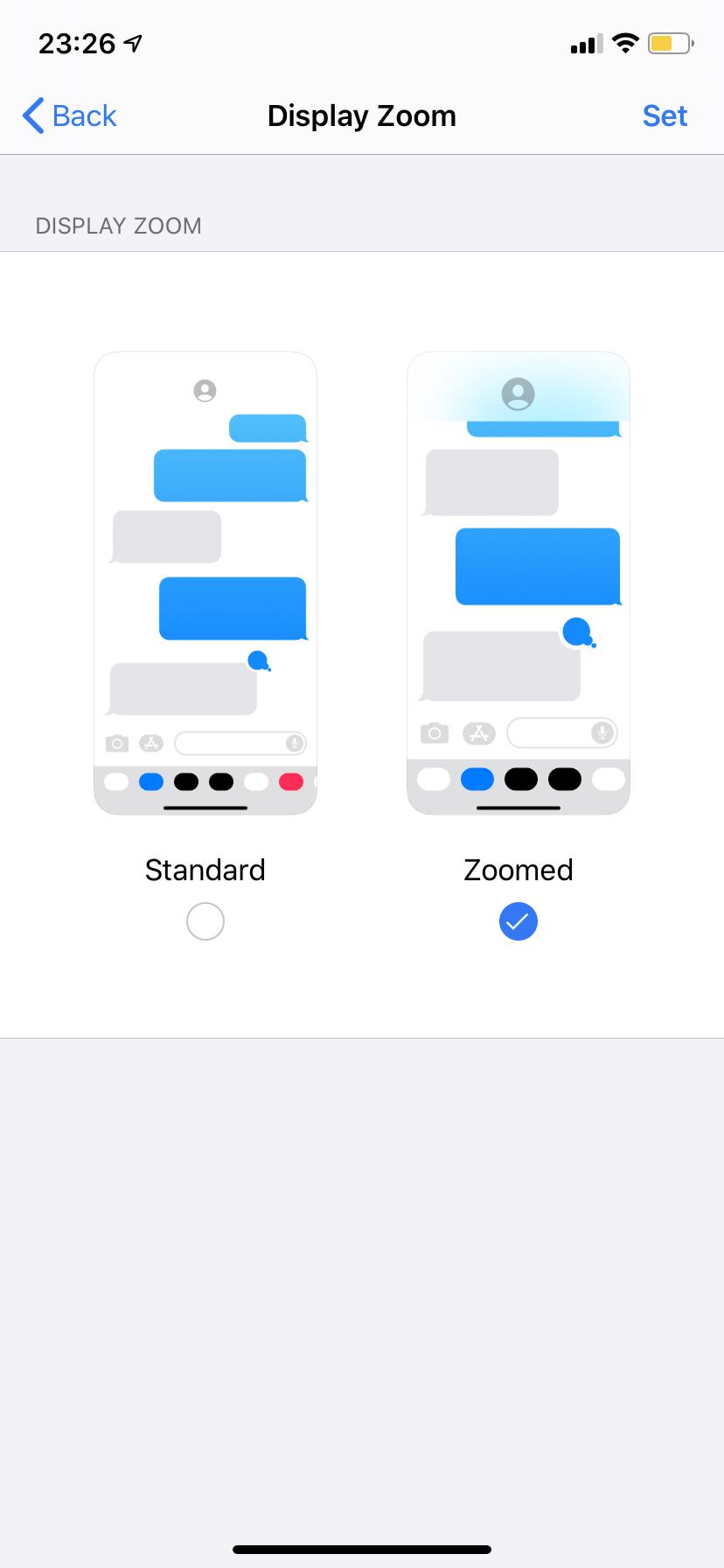 Cómo hacer el teclado más grande en el iPhone 6