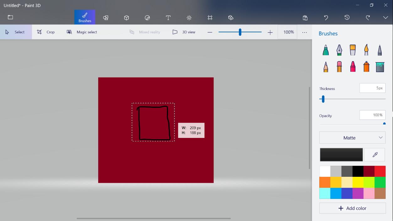 Cómo recortar una imagen en Paint.NET 2