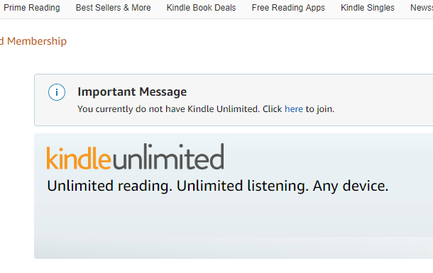 Cómo cancelar el Kindle Unlimited de Amazon 2