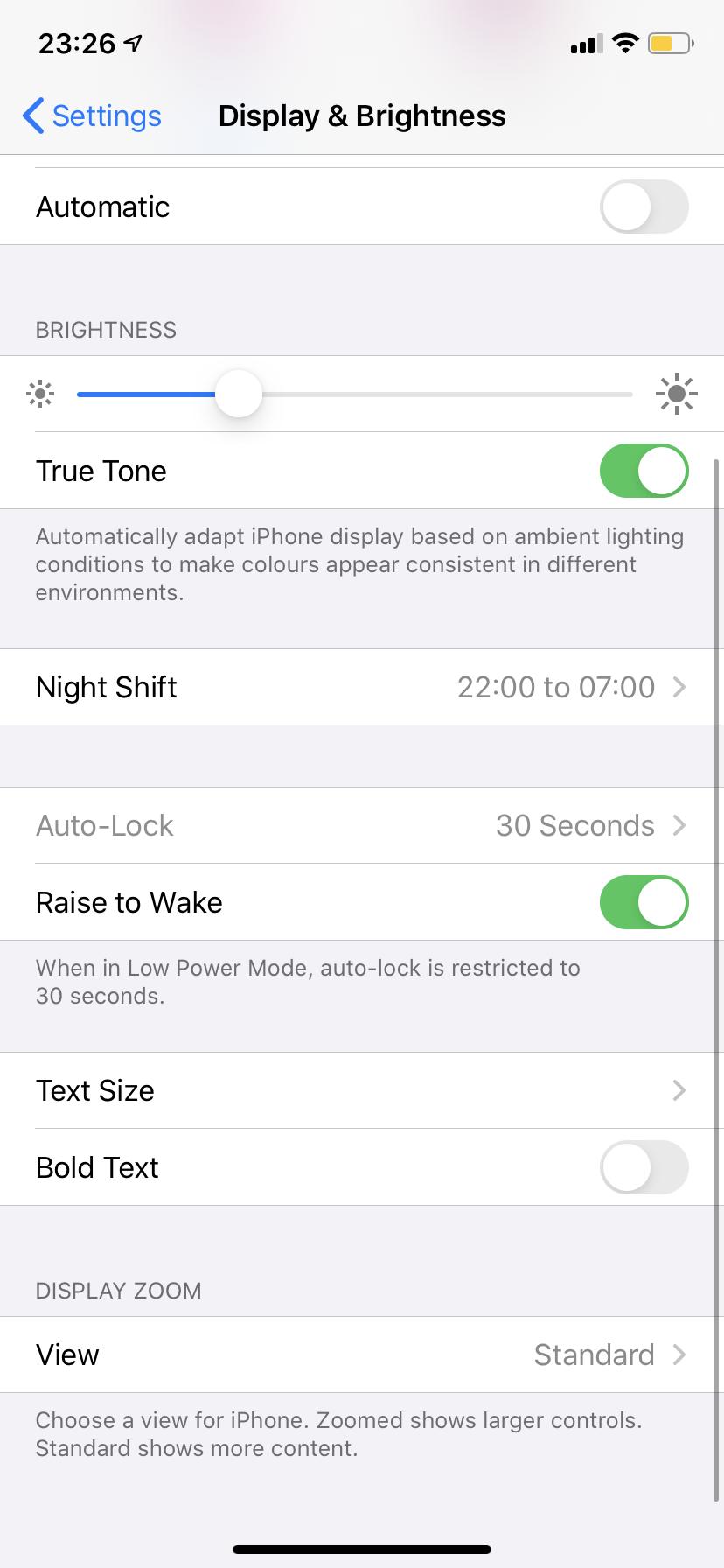 Cómo hacer el teclado más grande en el iPhone 5