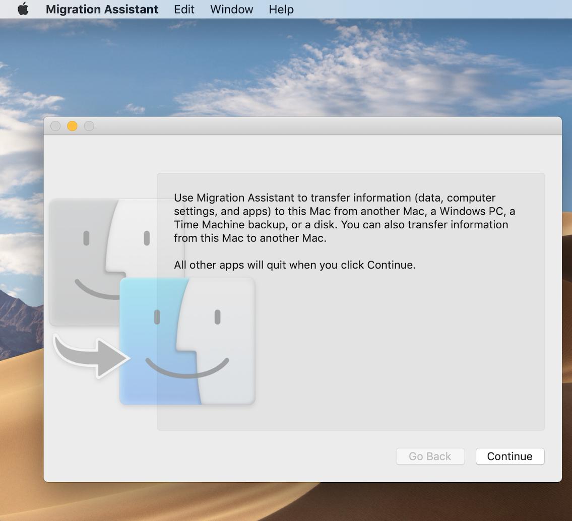 Cómo mover el contenido a una nueva Mac 1