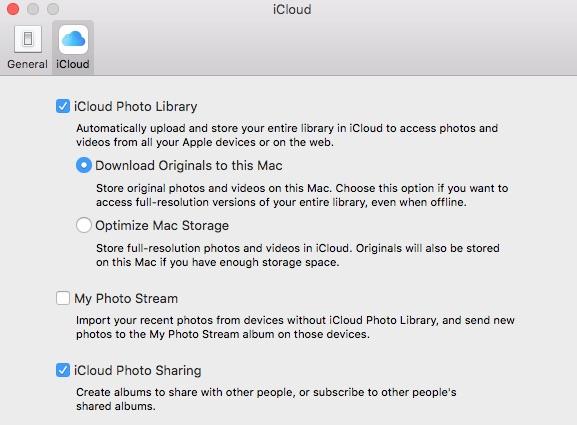 Cómo descargar fotos de iCloud a una unidad externa 1