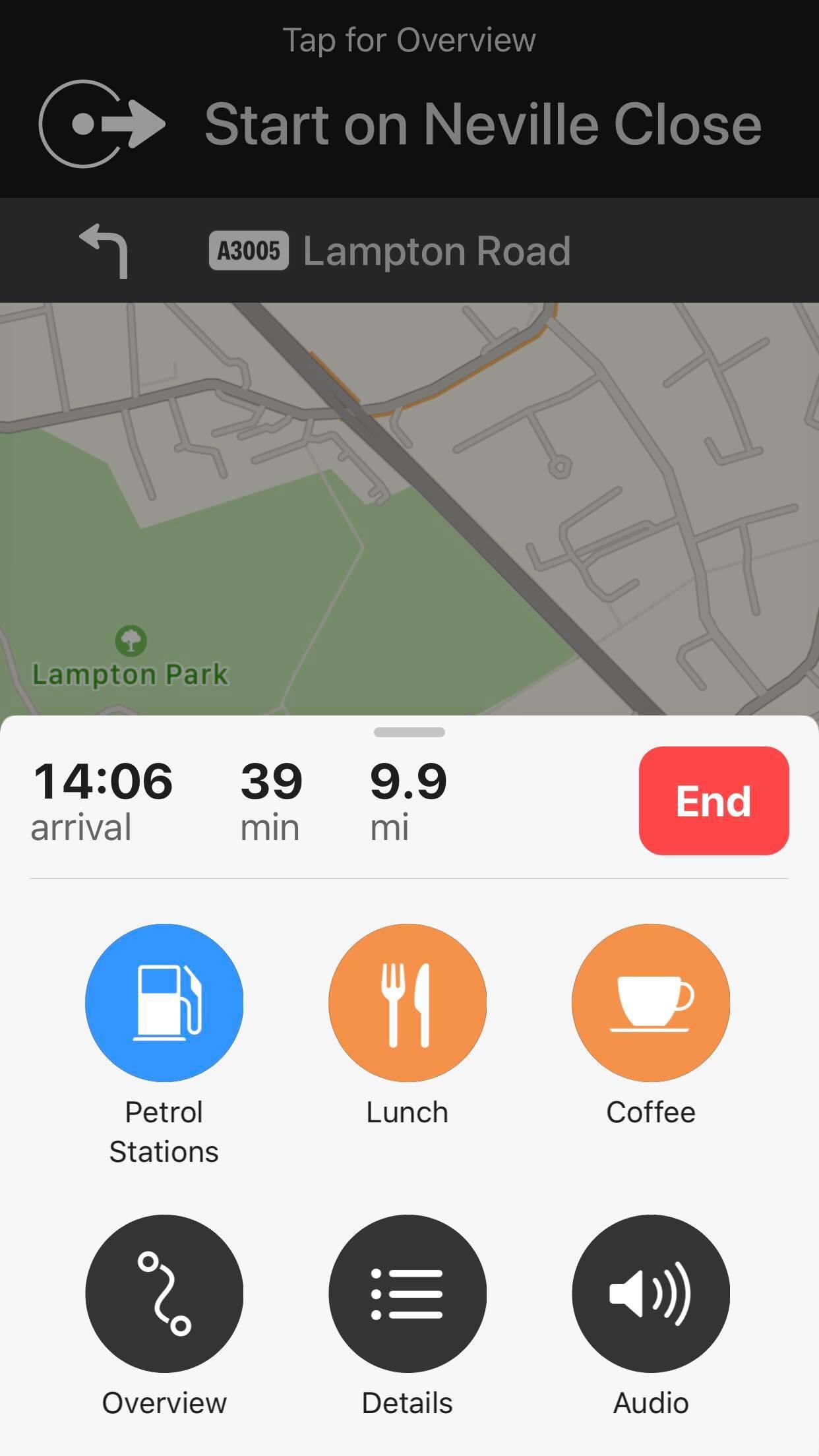 Cómo añadir varias paradas en Apple Maps 2