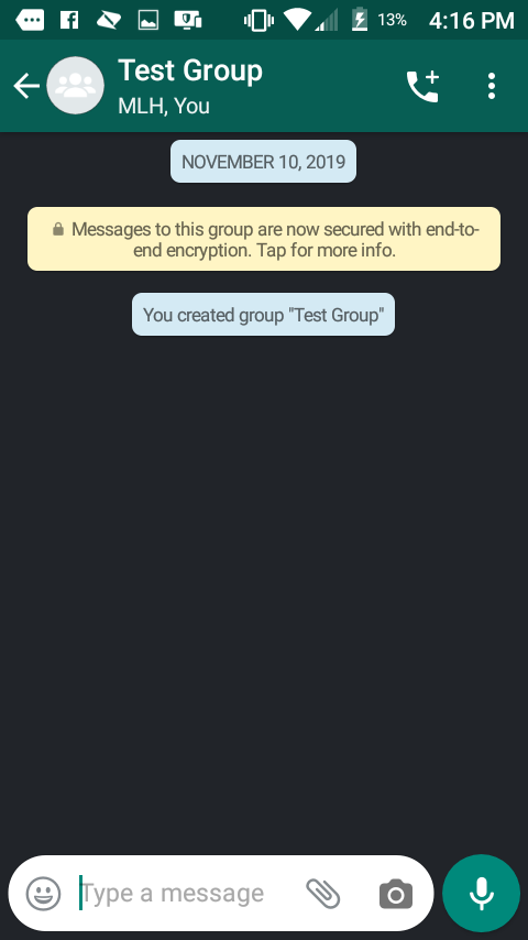Cómo enviar mensajes de texto en WhatsApp 2