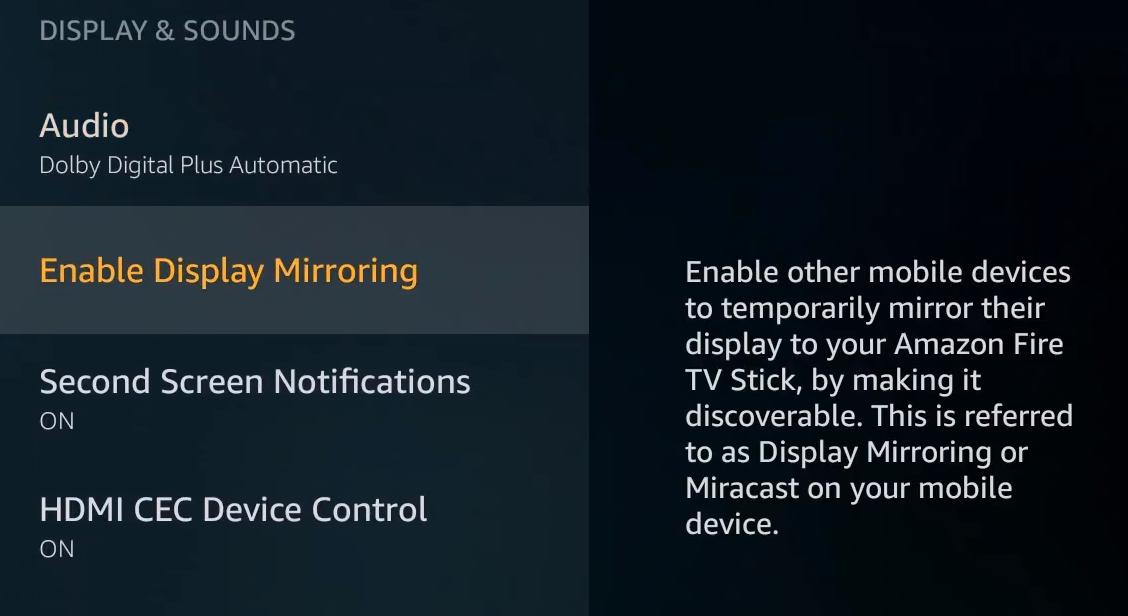 Cómo reflejar el Androide con la TV de fuego o con un palo 3