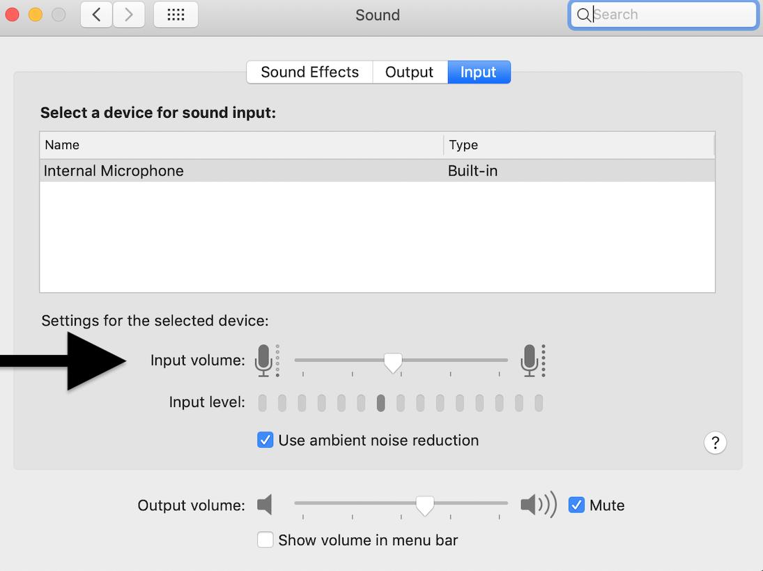 Cómo deshabilitar el micrófono en el MacBook 2