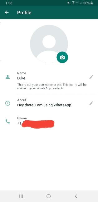 Cómo cambiar la imagen del perfil en WhatsApp 4