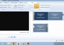Cómo recortar y cortar Windows Movie Maker 15