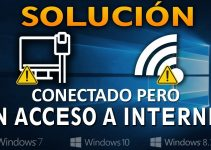 Conectado a Wi-Fi pero sin Internet en Windows 10 3