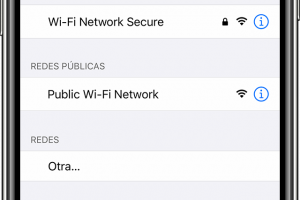 El iPhone no se conecta a la red WIFI oculta 4