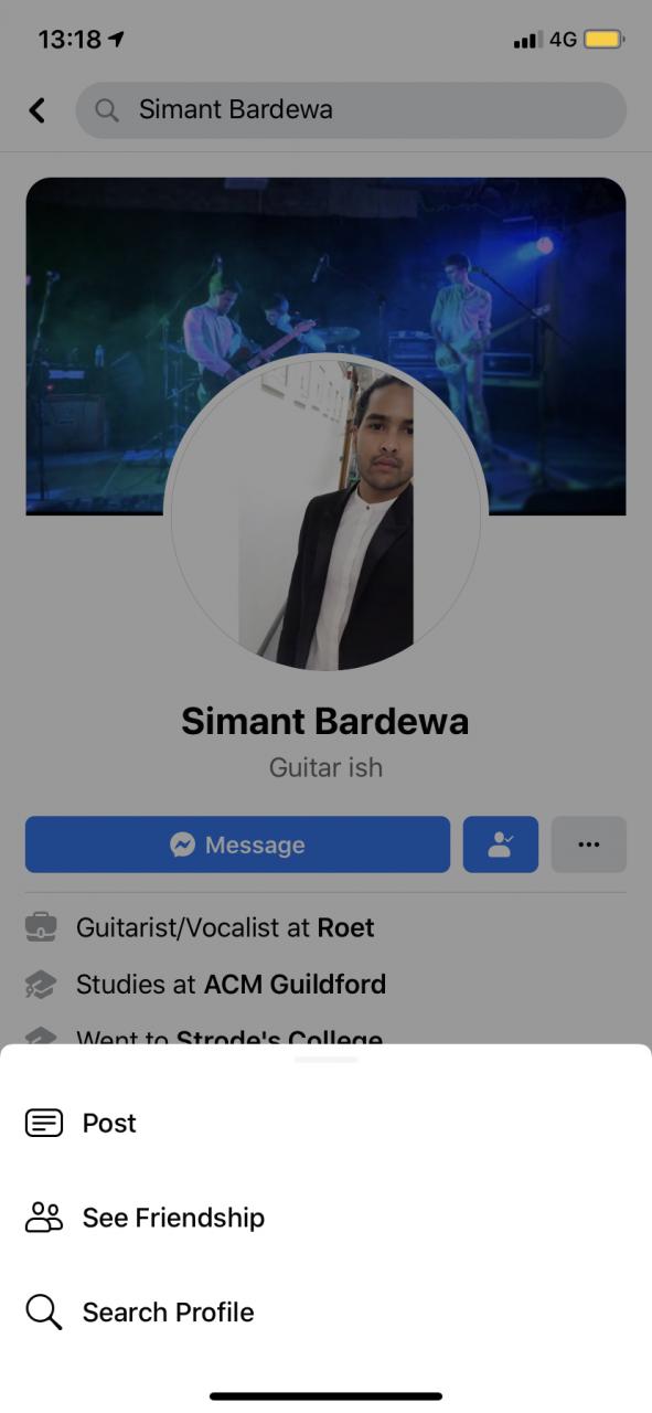 Cómo ver tus amistades en Facebook 2